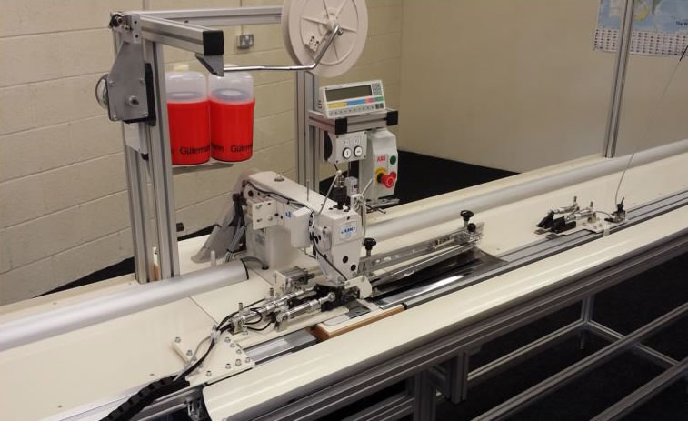 RBS Range - Roller Blind and Screen Fabric Sewing Machine